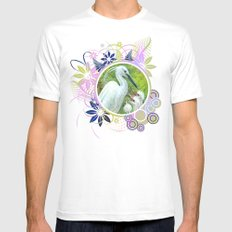 More food... Mens Fitted Tee White MEDIUM