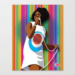 Gladys Subway Soul by Dawn Carrington Canvas Print