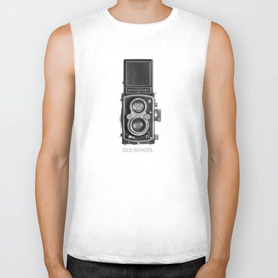 The King of Cameras - The Rolleiflex Biker Tank