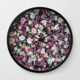 Flower carpet Wall Clock