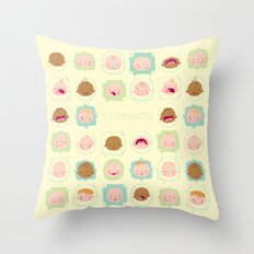 baby, it's complicated... Throw Pillow