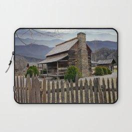 Appalachian Mountain Cabin Laptop Sleeve