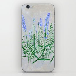 Lavender Plant Grows in the Garden iPhone Skin