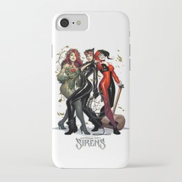 Sirens Gotham city iPhone Case