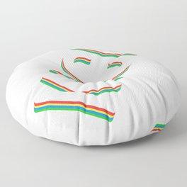 "Looking For Kicking Tee For A Kicker You Saying ""Kick"" T-shirt Design Defense Kickboxing Discipline Floor Pillow"