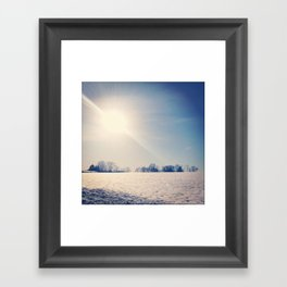 First Day of Spring Framed Art Print