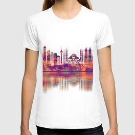 Istanbul Turkey Skyline T-shirt