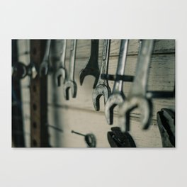 Wrenches Canvas Print
