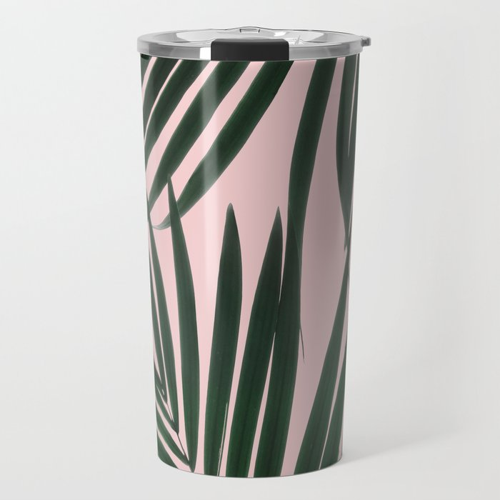 Delicate Jungle Theme Travel Mug