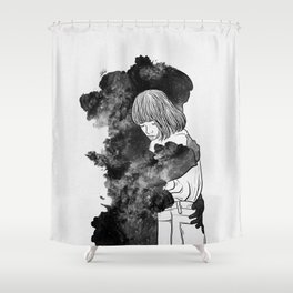 It would takes a life time to get over. Shower Curtain