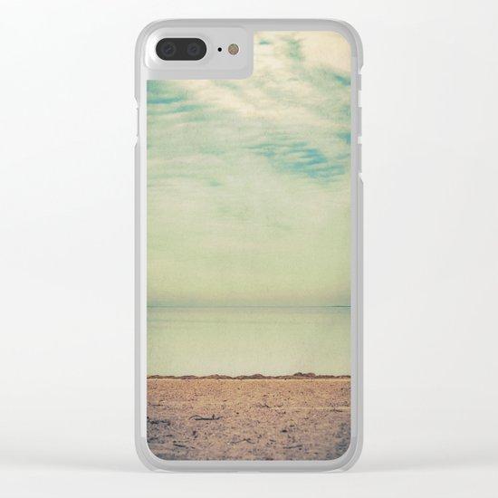 Calm Return Clear iPhone Case