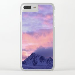 Rose Serenity Sunrise III Clear iPhone Case
