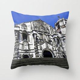 Our Lady of the Gate Parish Church Throw Pillow