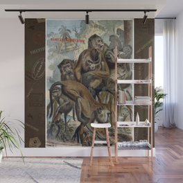 Macaques for Responsible Travel Wall Mural