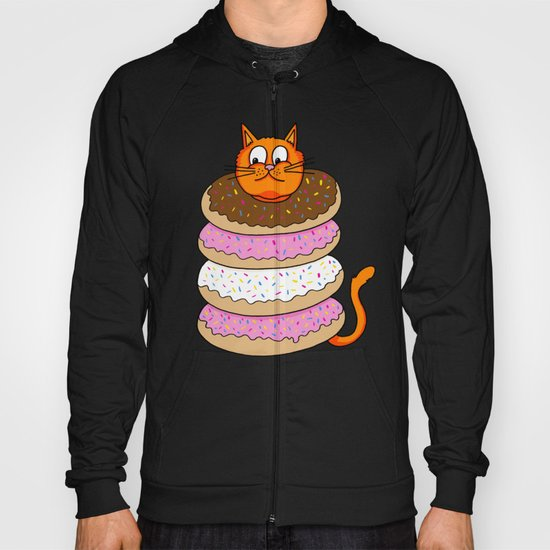More Cats & Donuts Hoody