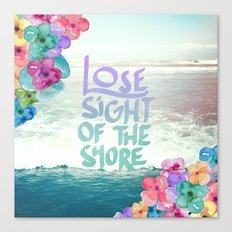 The Shore Canvas Print
