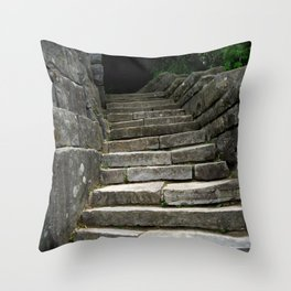 Solid Foundations Throw Pillow