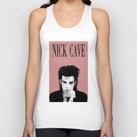 nick cave Tank Tops featuring nick cave by tama-durden