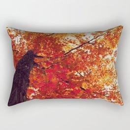 Aflame Rectangular Pillow