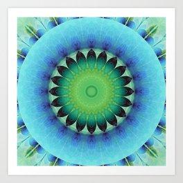 Mandala care Art Print