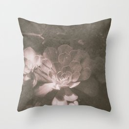 the space between breaths Throw Pillow
