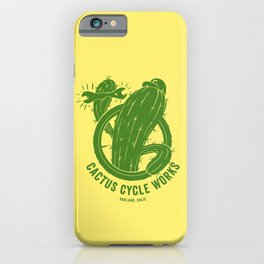 Cactus Cycle Works iPhone Case