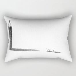 The Pencil Idol Rectangular Pillow