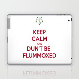 Keep Calm and Dun't Be Flummoxed Laptop & iPad Skin