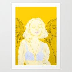 Lemondrop Art Print