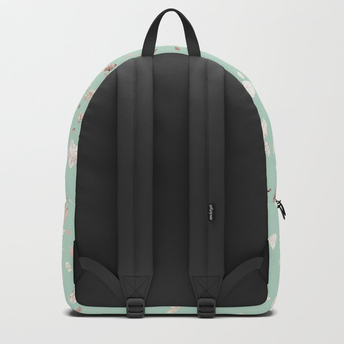 Minty Pink Backpack