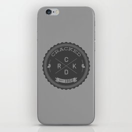 The Cracked Seal of Officialness iPhone Skin