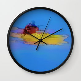 Touching Heaven    -   Kayaker Wall Clock