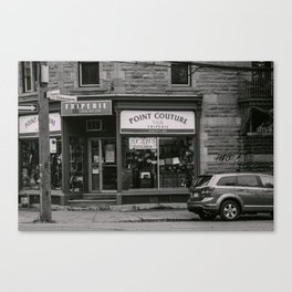 Point Couture Canvas Print