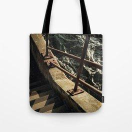 Water / Stairs Tote Bag