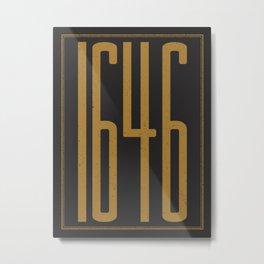1646 Metal Print