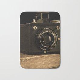 Vintage Kodak Brownie Camera Bath Mat