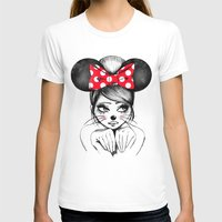 minnie T-shirts featuring Minnie by theavengerbutterfly