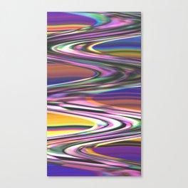 Digital Stream Canvas Print