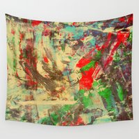 mexico Wall Tapestries featuring Mexico City by James Peart