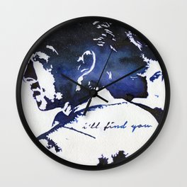 Glenn & Maggie Wall Clock