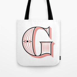 G Drop Cap Tote Bag