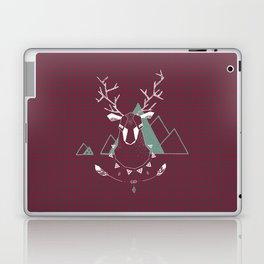 Christmas Geo Deer 4 Laptop & iPad Skin