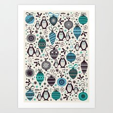 Silver Trinklets  Art Print