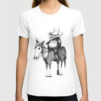 cowboy T-shirts featuring Cowboy by Chimi