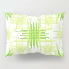 Intersecting Lines Pattern Design Pillow Sham