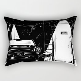 Neighborhood Watch Rectangular Pillow