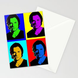 Jared Padalecki Pop Art Stationery Cards