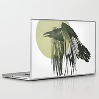 raven Laptop & iPad Skins featuring raven by morgan kendall