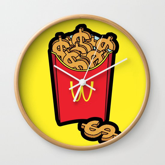 Pop Icon - Warhol Wall Clock