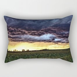 Light at the end of the day Rectangular Pillow